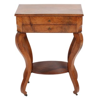 French Charles X Dressing Jewelry Vanity Table