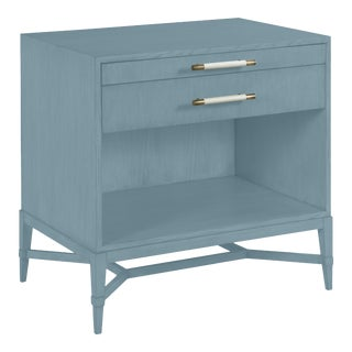 Shea Bedside Table, Chiswell Blue For Sale