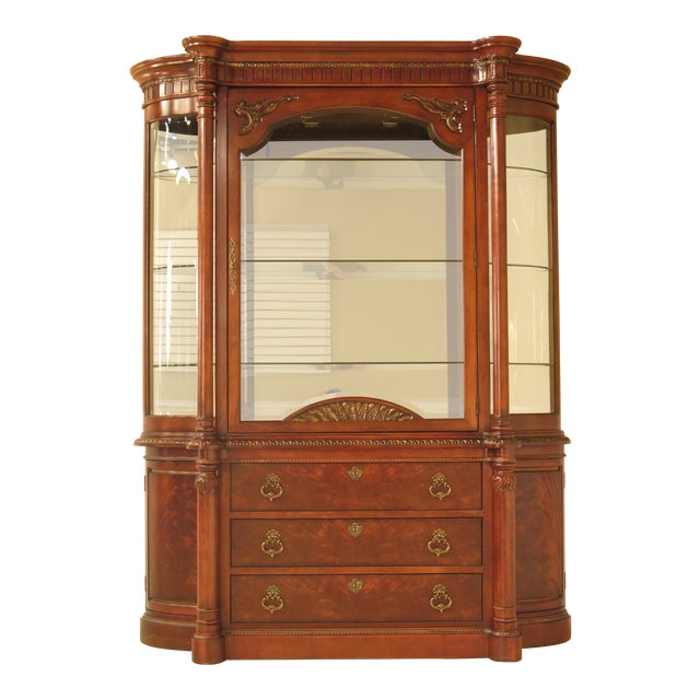 Century Furniture Sale: Century Furniture Beveled Glass Mahogany China Cabinet
