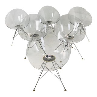 """""""Eros"""" Chairs by Philippe Stark For Sale"""