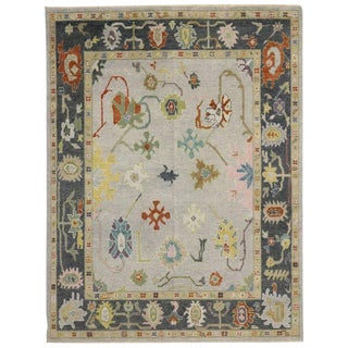 Contemporary Oushak Style Rug - 7′7″ × 10′ For Sale