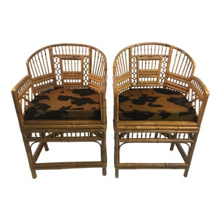 Vintage Brighton Chairs - a Pair For Sale