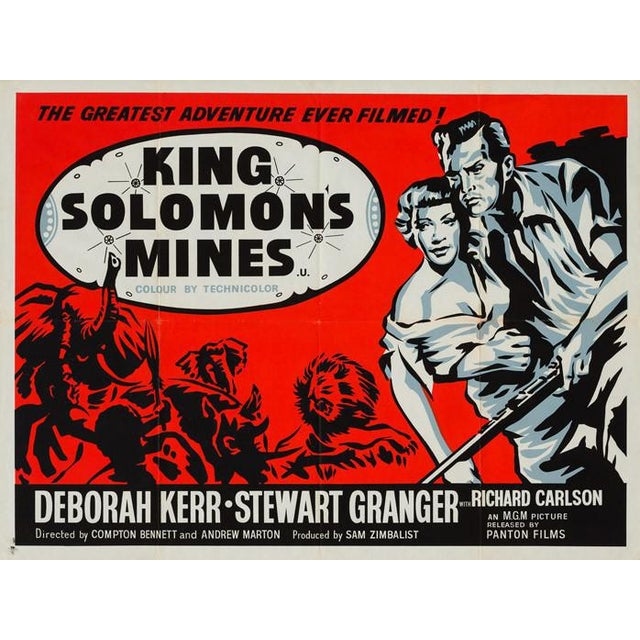King Solomon's Mines starring Deborah Kerr and Stewart Granger is one of our favourite films of the 50s. Worthy of its...