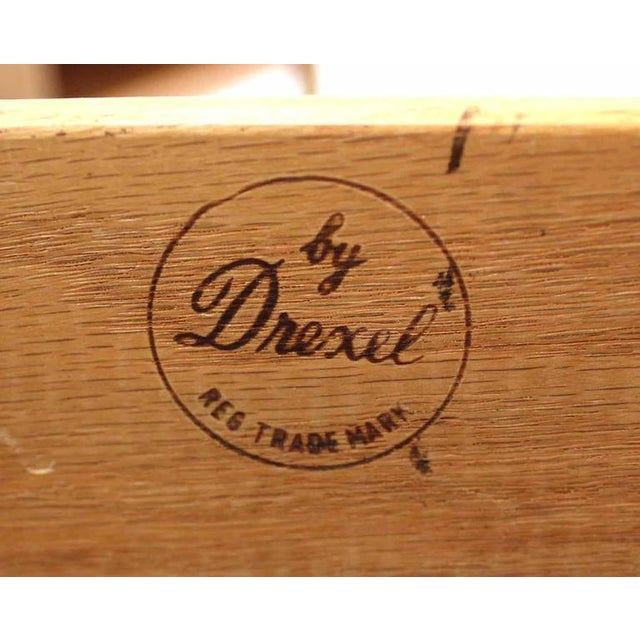 Mid-Century Modern Pair of Mid-Century One Drawer Nightstands by Drexel For Sale - Image 3 of 8