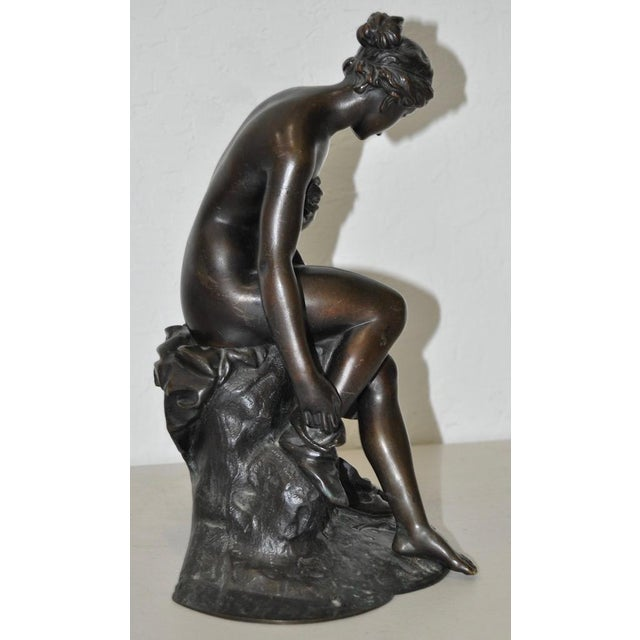 Traditional 19th C. Bronze Ballerina For Sale - Image 3 of 5