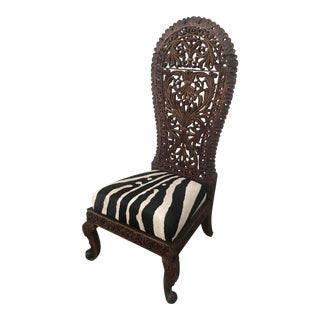 1900s Anglo-Indian Accent Chair For Sale