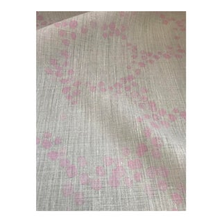 Galapagos Petal Pink Fabric by Ferrick Mason -2.5 Yards For Sale