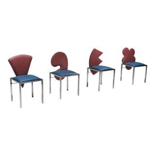 1980s Vintage Chairs - Set of 4 For Sale