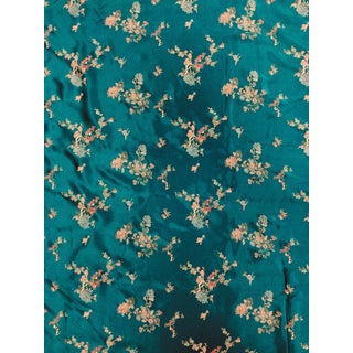 Chinese Print Silk Rayon Polyester Upholstery Fabric For Sale