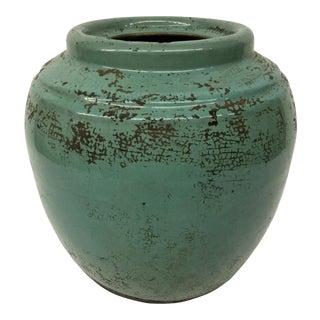 Asian Ceramic Planter/Vase For Sale