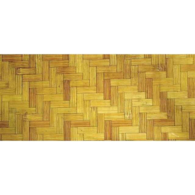 John Wisner Long and Low Pagoda Form Bamboo Coffee Table - Image 6 of 6