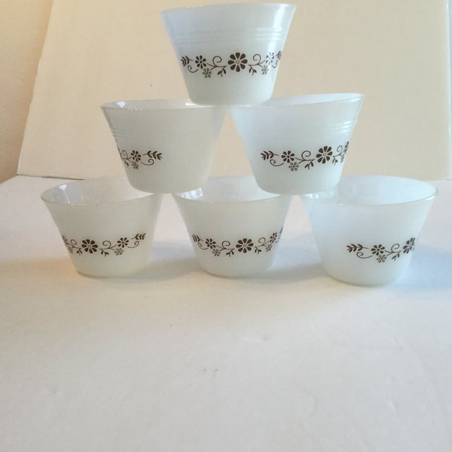 Milk Glass Custard Cups - Set of 6 - Image 2 of 10