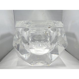 Vintage Enormous Alessandro Albrizzi Lucite Ice Bucket Preview