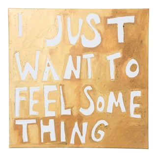 I Just Want to Feel Something Painting by Virginia Chamlee For Sale