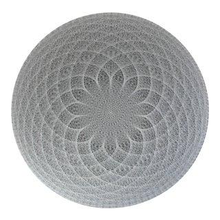 Original String Mandala by Artist John Eichinger