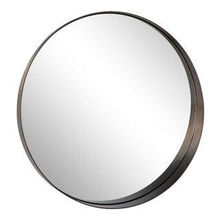 Gunner Mirror Round in Steel For Sale
