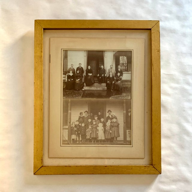 Early 20th Century Antique Framed Family Portrait Photographs For Sale - Image 4 of 4
