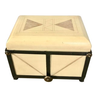 Vintage Maitland-Smith Tessellated Stone Dresser/Jewerly Box For Sale