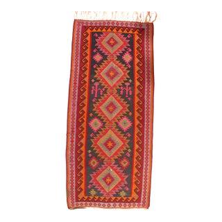 "Pasargad NY Antique Persian Shiraz Kilim Rug - 5'11"" x 7'11"" For Sale"