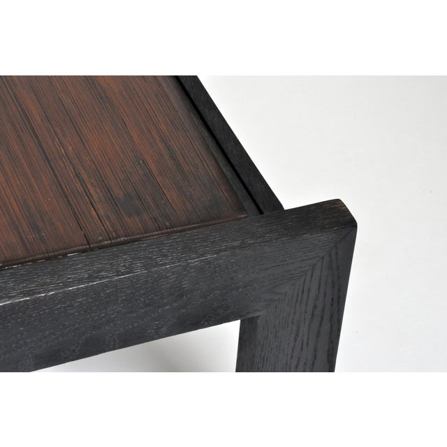 Custom Bamboo Top Coffee Table For Sale - Image 10 of 13
