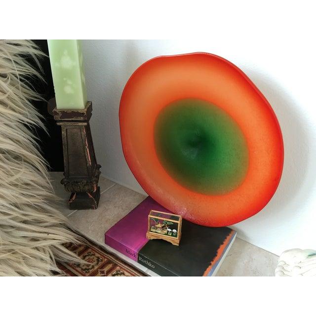 1950s Murano Art Glass Centerpiece Bowl - Image 5 of 6