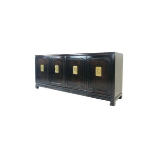 John Widdicomb Ebonized Credenza For Sale