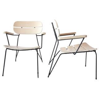 Carlo Hauner, Martin Eisler Costela Chairs Brazilian Mid Century Modern For Sale