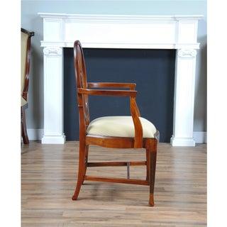 Niagara Furniture Round Back Inlaid Arm Chair - a Pair Preview
