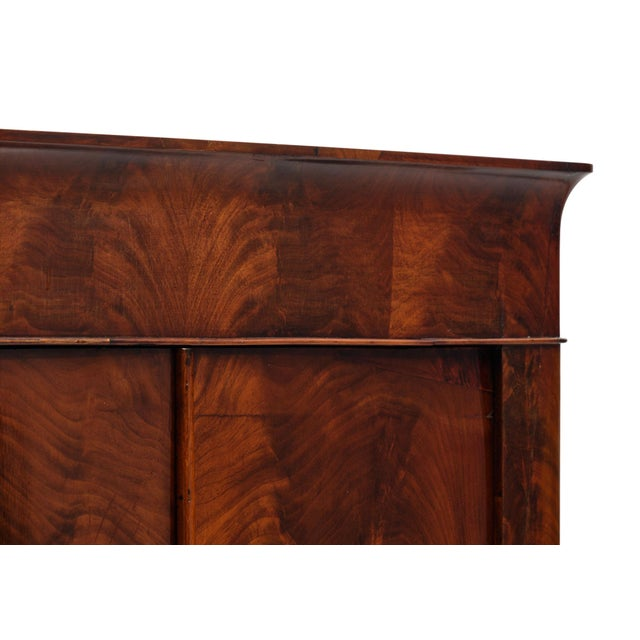 French French Restoration Antique Armoire For Sale - Image 3 of 10