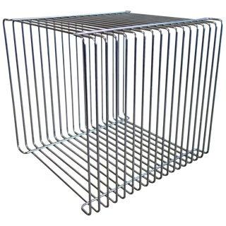 Mid-Century Verner Panton Pantonova Wire Cube for Fritz Hansen For Sale