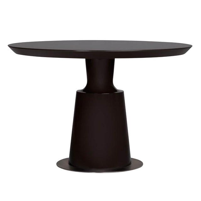 Holly Hunt Black Peso Dining Table - Image 1 of 3