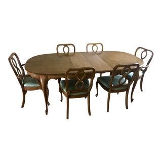 Vintage Solid Wood Dining Set