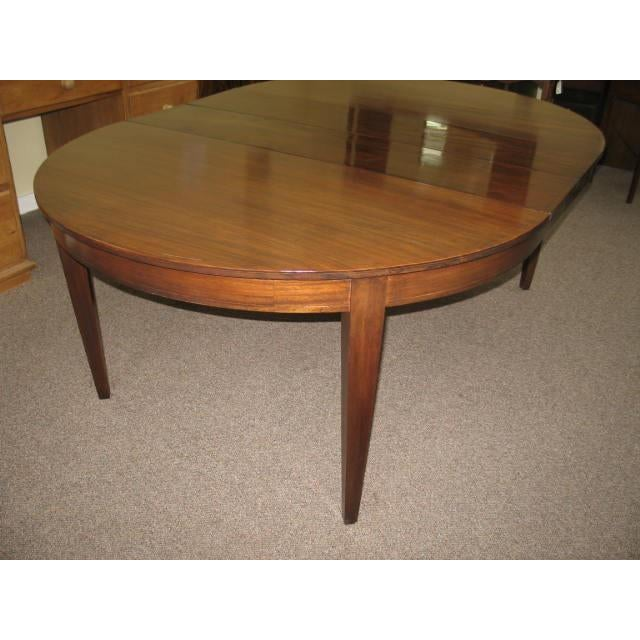 Antique Extending Mahogany Dining Table - Image 5 of 11
