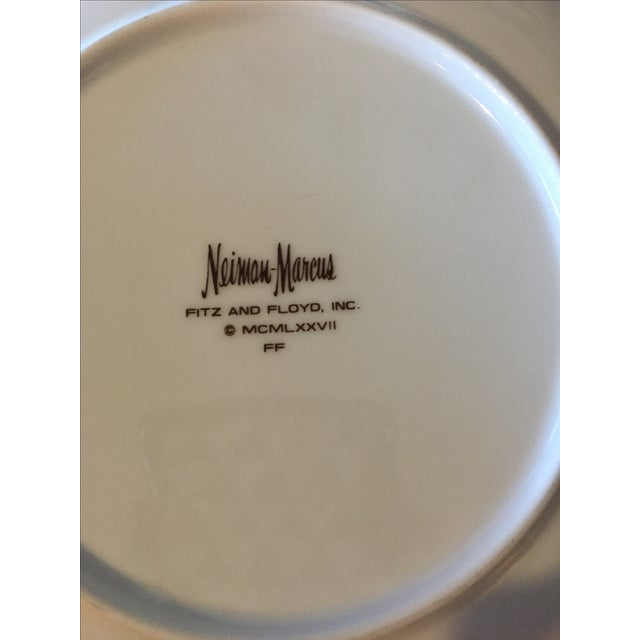 Fitz & Floyd for Neiman Marcus Bird Plates - Set of 3 For Sale In Los Angeles - Image 6 of 7