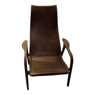 Modern Restoration Hardware Larsson Lounge Chair For Sale
