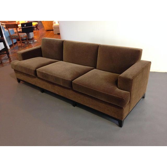Incredibly comfortable three seater sofa! Like new!