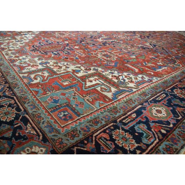 "Vintage Heriz Carpet - 8'1"" X 10'7"" - Image 5 of 10"