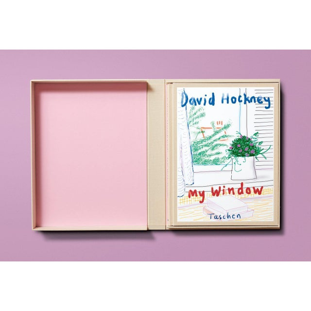 In this artist's book of 120 iPhone and iPad drawings, David Hockney follows the course of the seasons through the window...