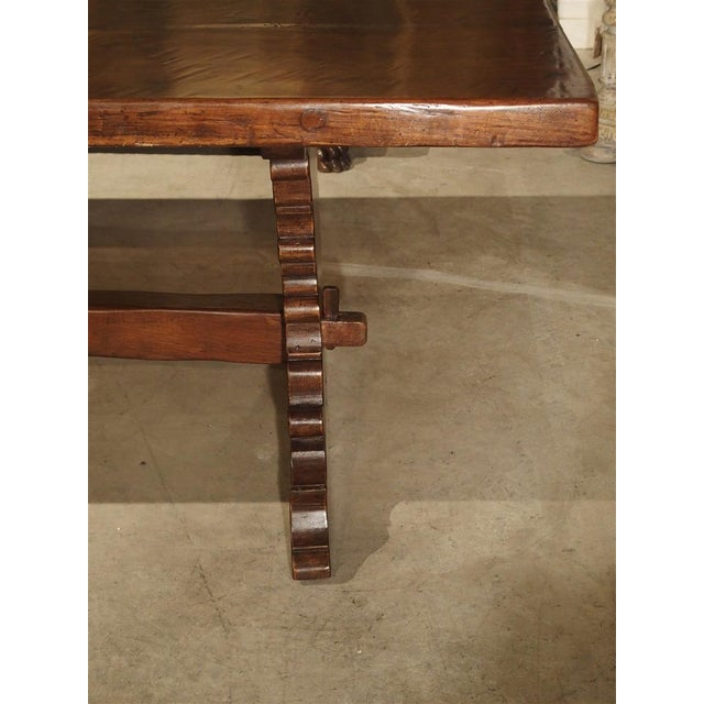 Late 19th Century Antique Italy, 19th Century Oak Dining Table For Sale - Image 5 of 11
