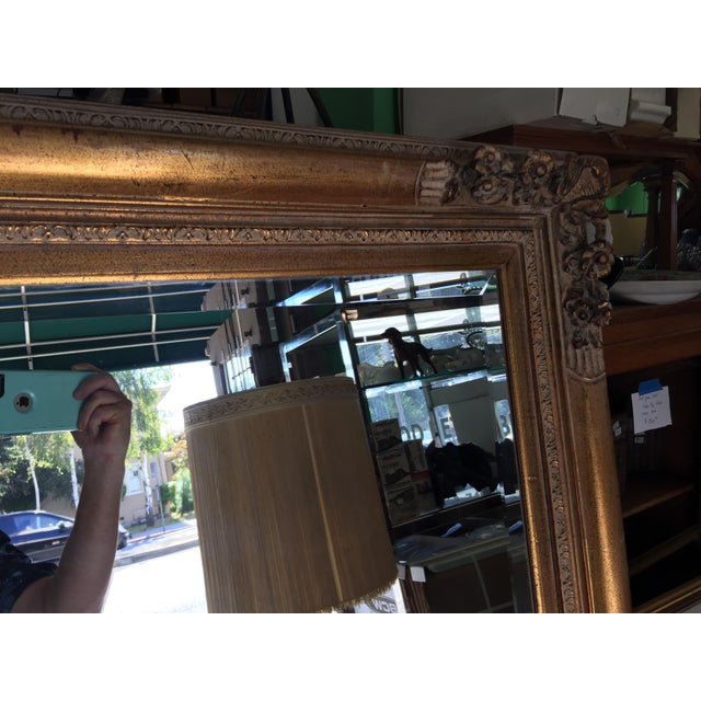 Large Gold Mirror For Sale In San Francisco - Image 6 of 13