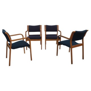 Thonet Bentwood Dining Armchairs - Set of 4