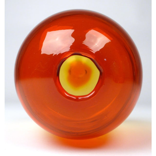 Blenko Blenko Bud Vase For Sale - Image 4 of 5