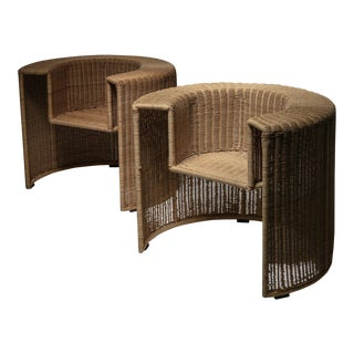 "Pair of ""Charlotte"" Chairs by Mario Botta for Horm For Sale"