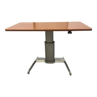 Contemporary Steelcase Airtouch Adjustable Height Sit-To-Stand Desk For Sale