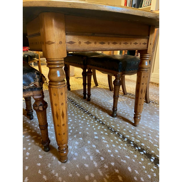 American Folk Art Table For Sale - Image 4 of 9