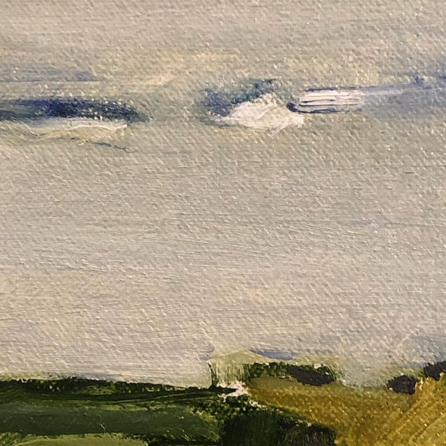 """""""North Shore"""" Contemporary Abstract Landscape Oil Painting by Ann Keane For Sale In Charleston - Image 6 of 6"""