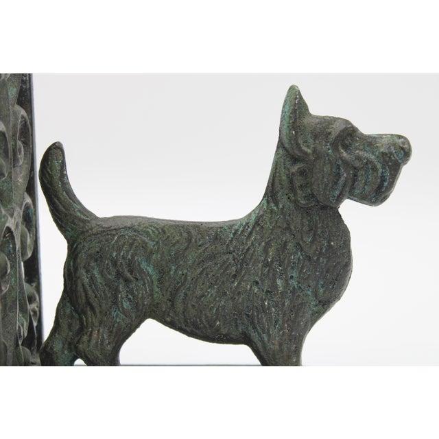 Vintage West Highland Terrier Dog Bookends For Sale In Tulsa - Image 6 of 10