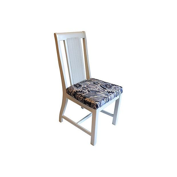 Cane Back Dining Chairs - Set of 4 - Image 4 of 7