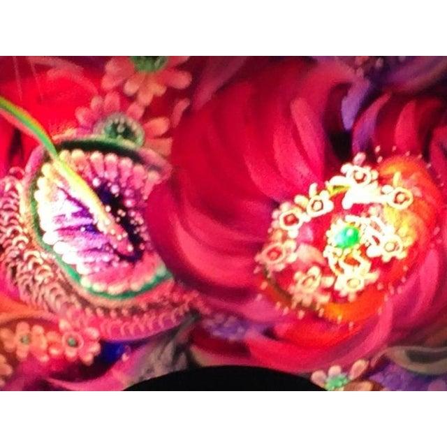 Blue Original Ulla Darni Signed Sconce For Sale - Image 8 of 8