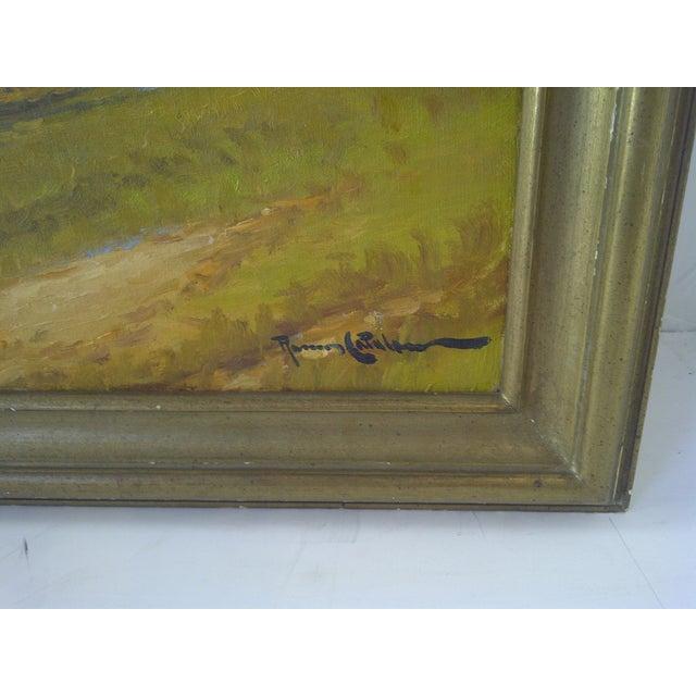 """""""The Farm Lane"""" by Roman Matthews For Sale - Image 4 of 7"""